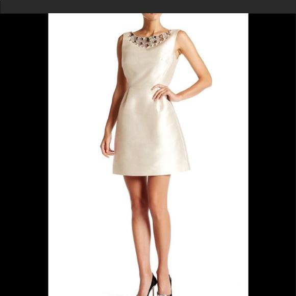 f3446c166634 kate spade Dresses   Embellished Open Back Cocktail Dress   Poshmark